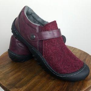 JBU Jambu Felted Wool Clogs Fleece Lining 9.5